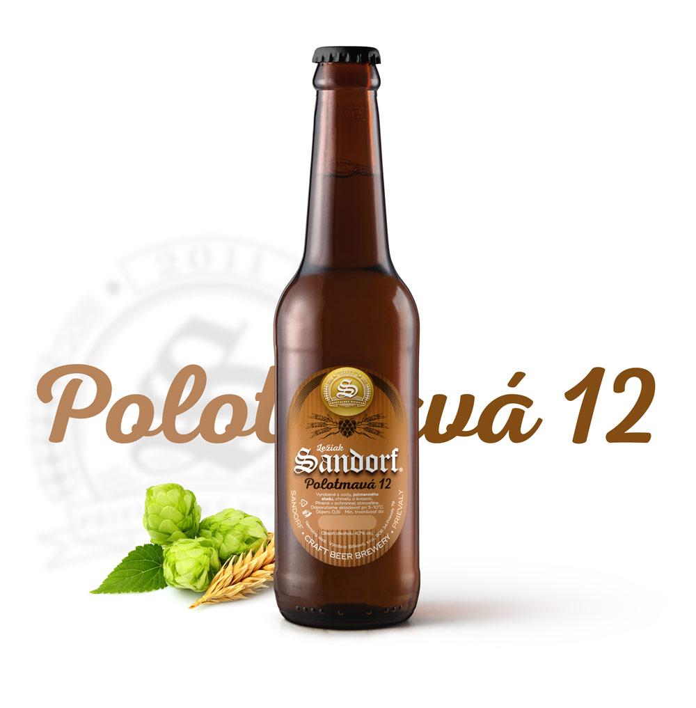 Sandorf Polotmavá 12